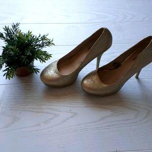 Sexy sparkly high heels
